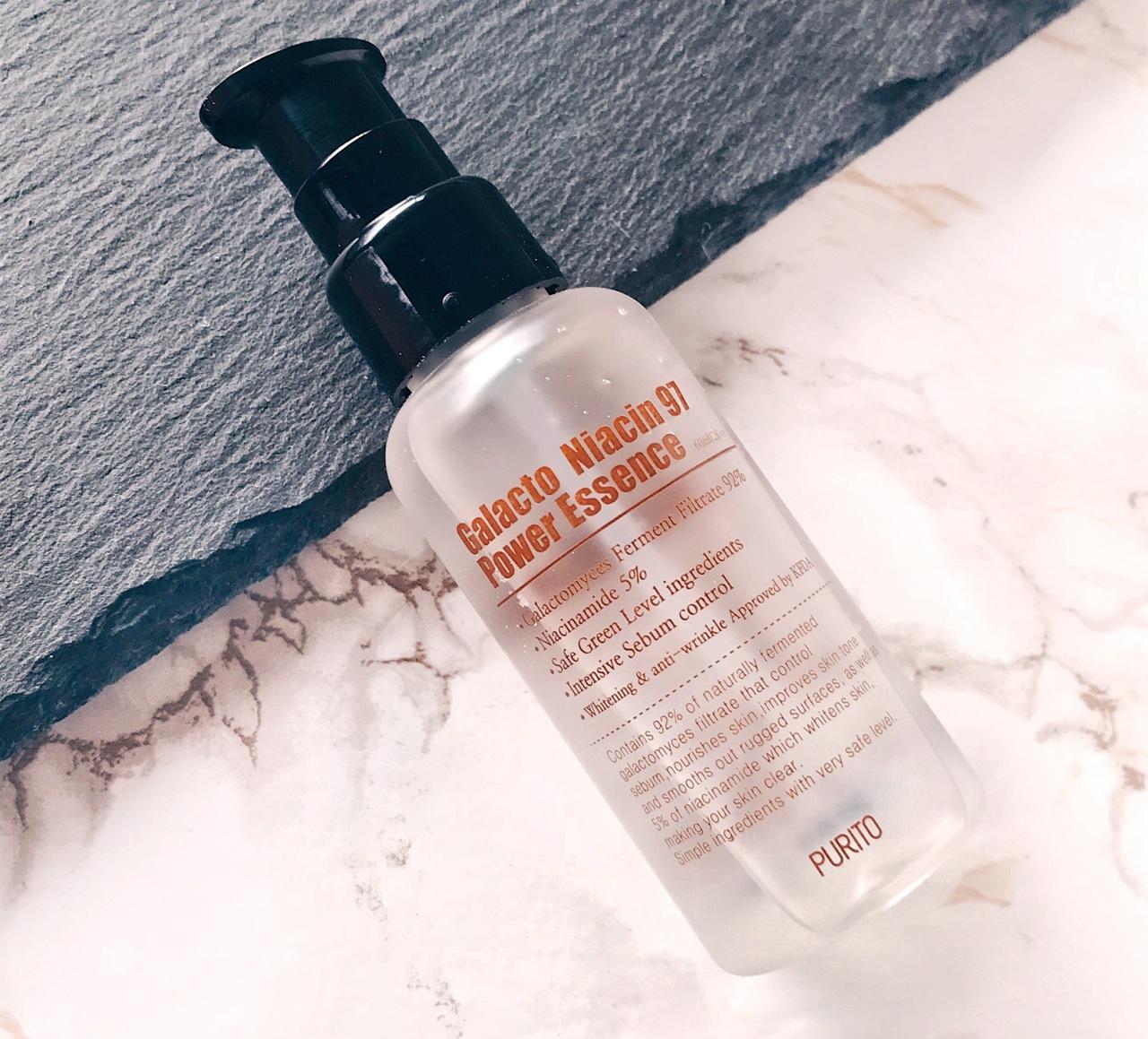 Purito Galacto Niacin 97 Power Essence Korean skincare review