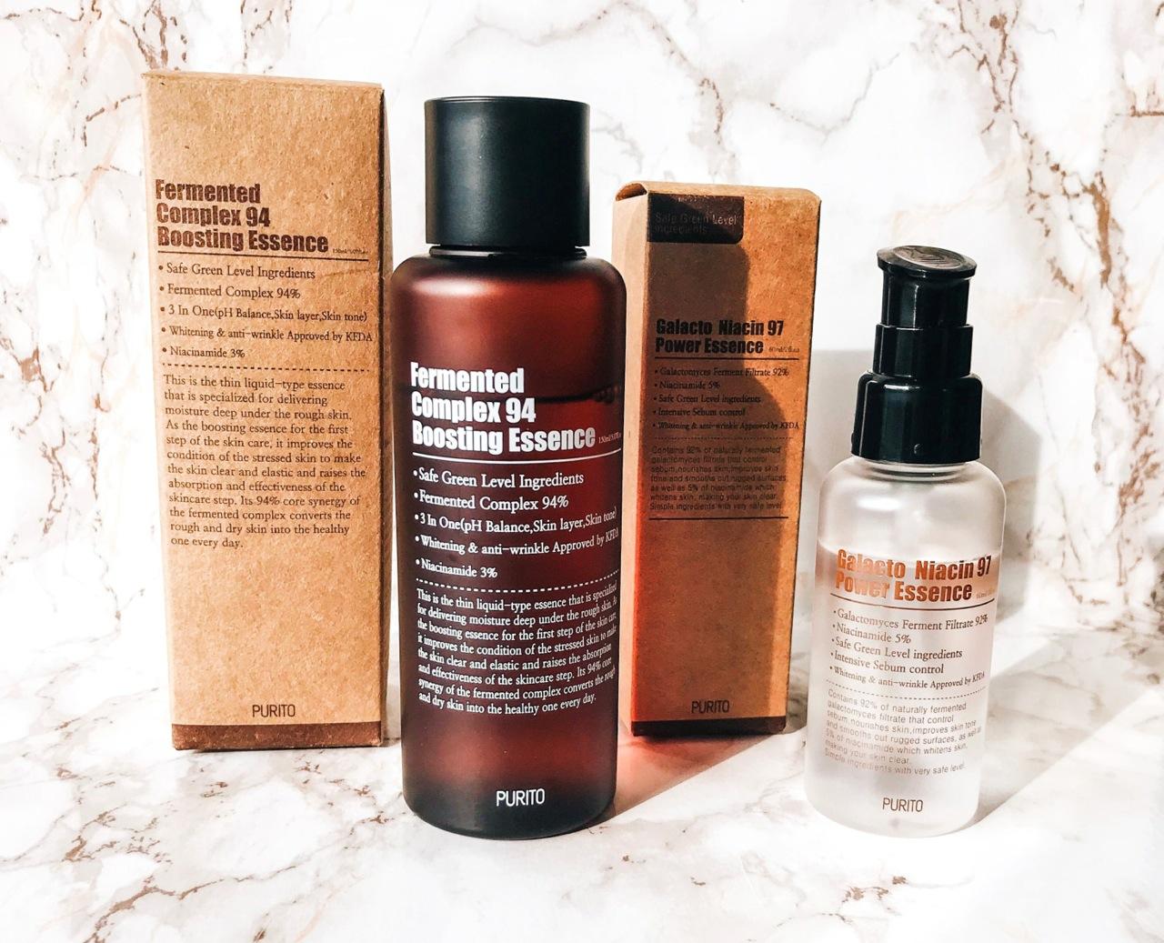 Purito skincare Korean beauty review
