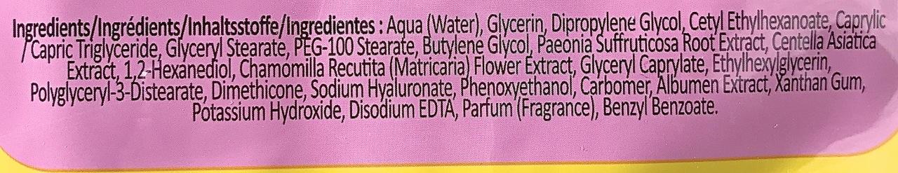 Sugu Beauty Glowing Skin Sheet Mask Incis