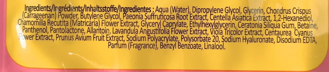 Sugu Hydrating Gel Lip Mask Incis
