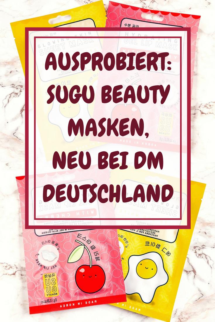 Ausprobiert: Sugu Beauty Masken, neu bei dm Deutschland