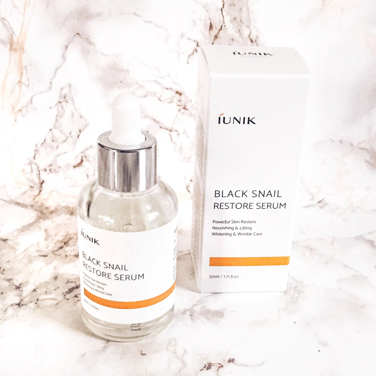 iUNIK Black Snail Restore Serum review