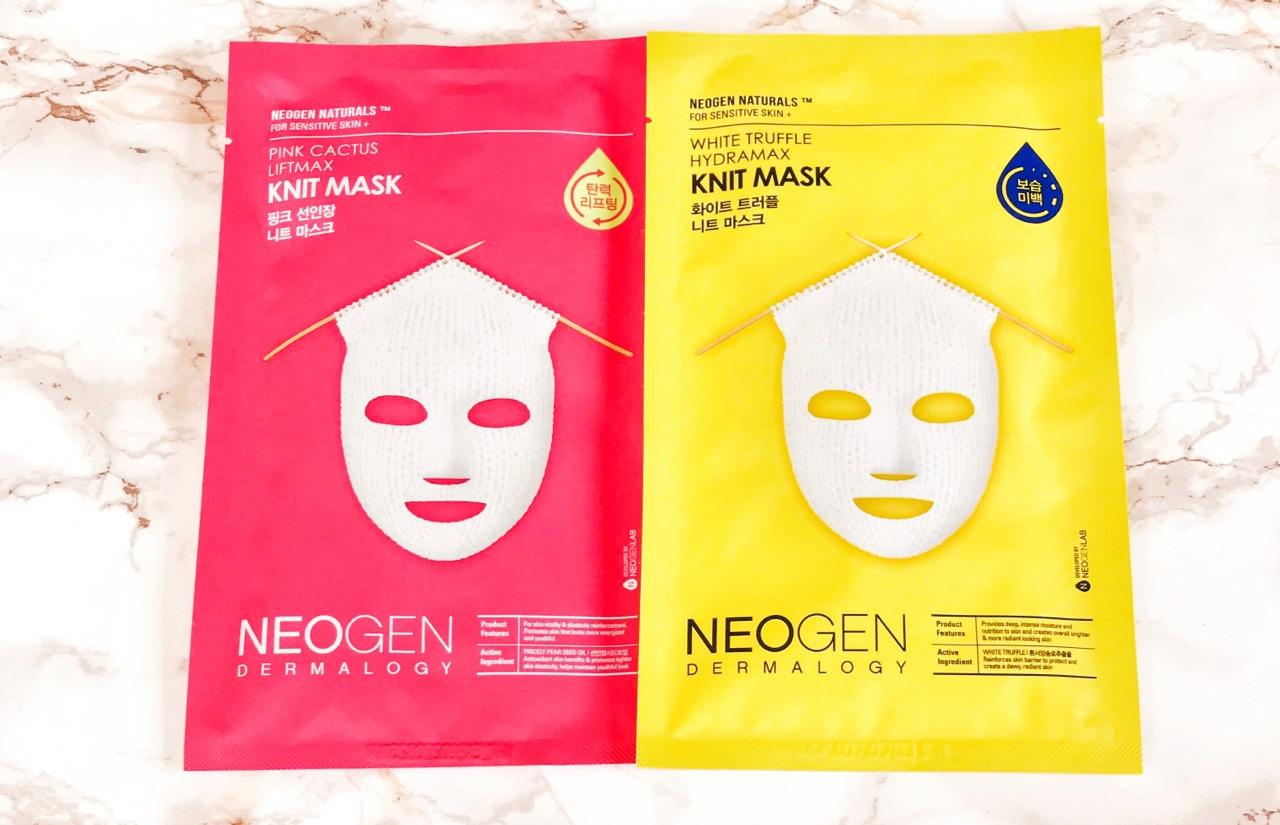 Neogen Knit Masks Tuchmasken ausprobiert