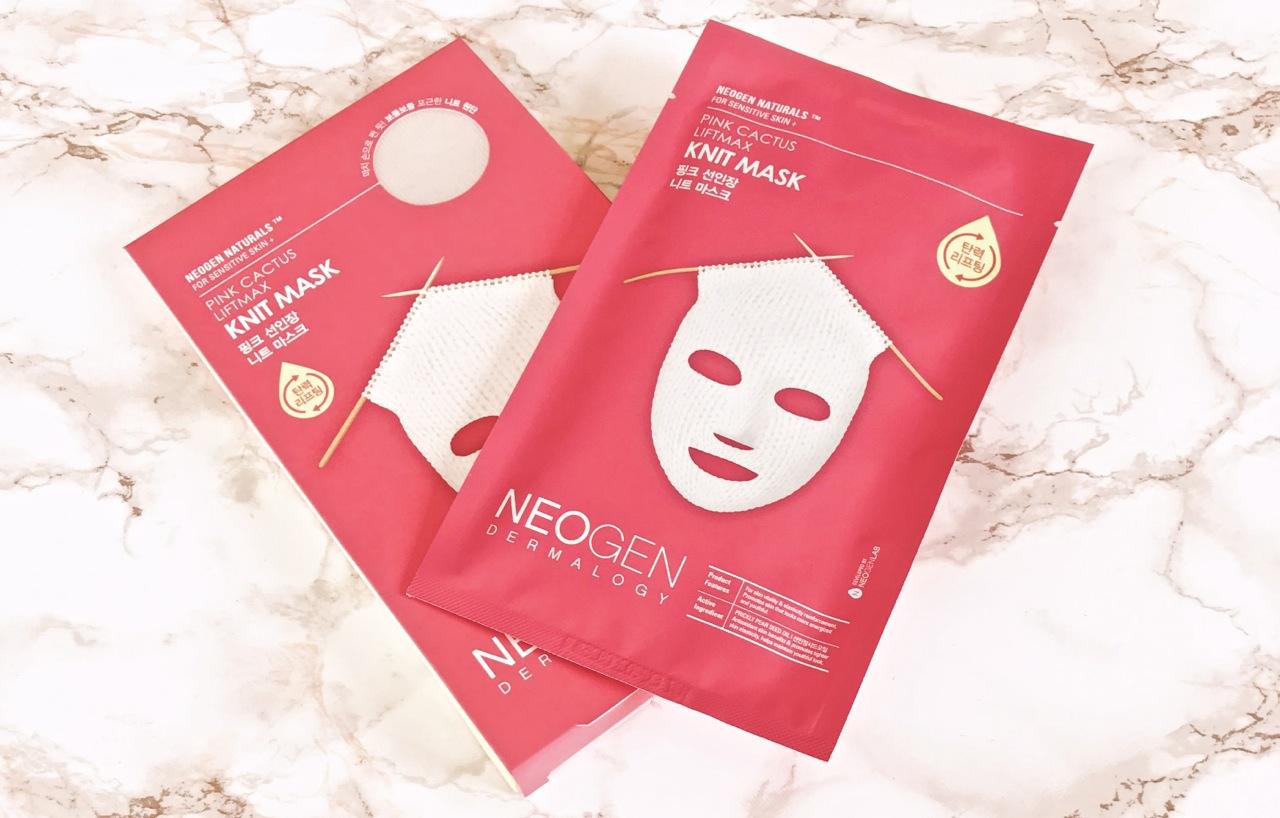Neogen Knit Mask Pink Cactus