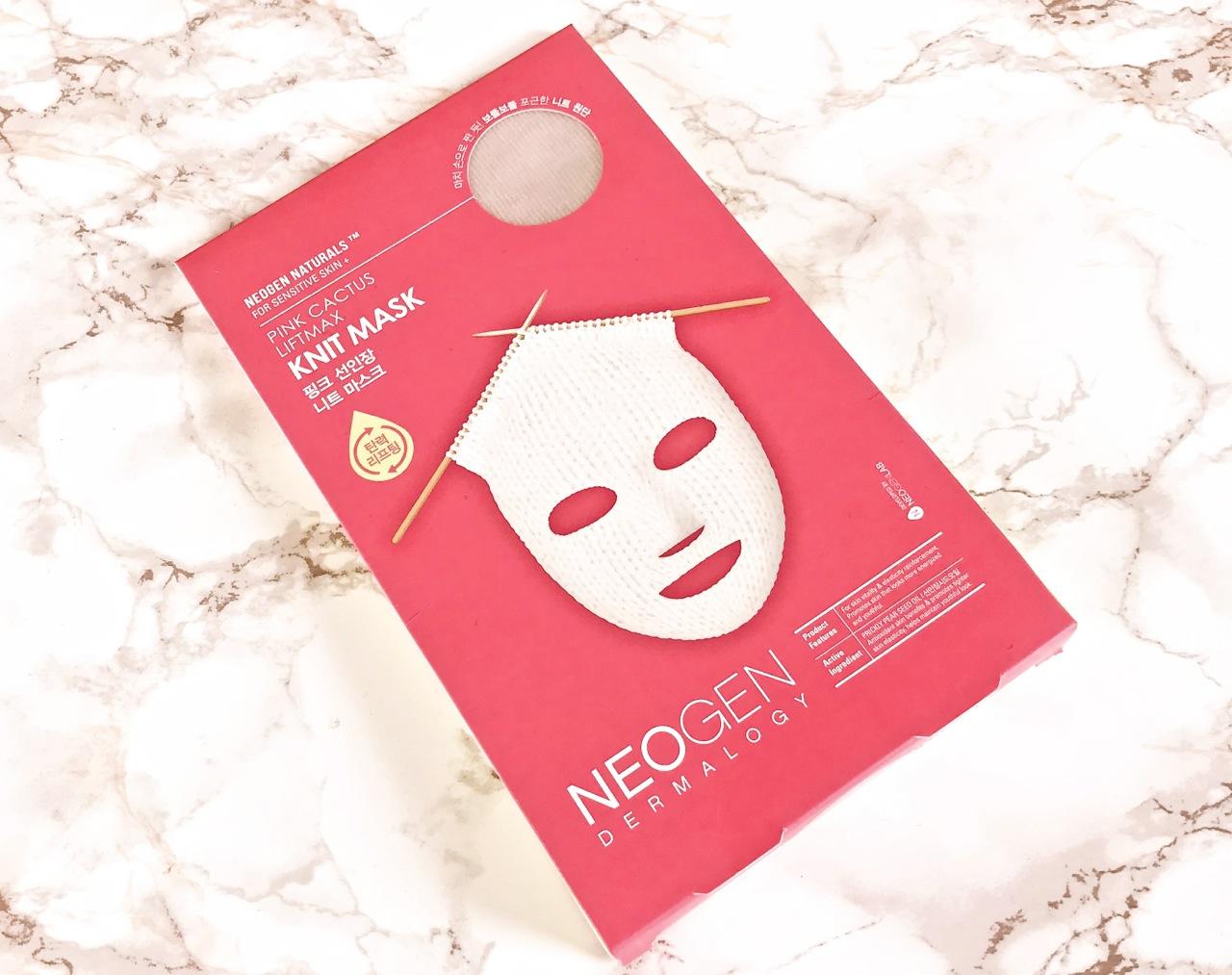 Neogen Pink Cactus Knit Mask