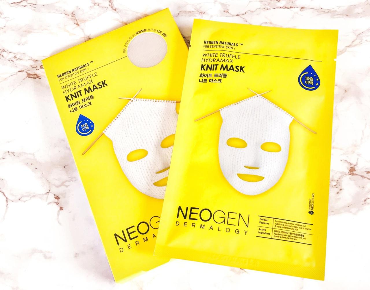 Neogen White Truffle Knit Mask Tuchmaske
