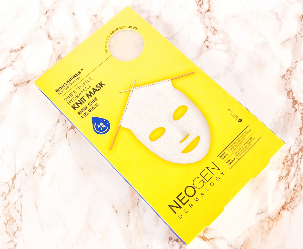Neogen Knit Mask Whit Truffle Verpackung