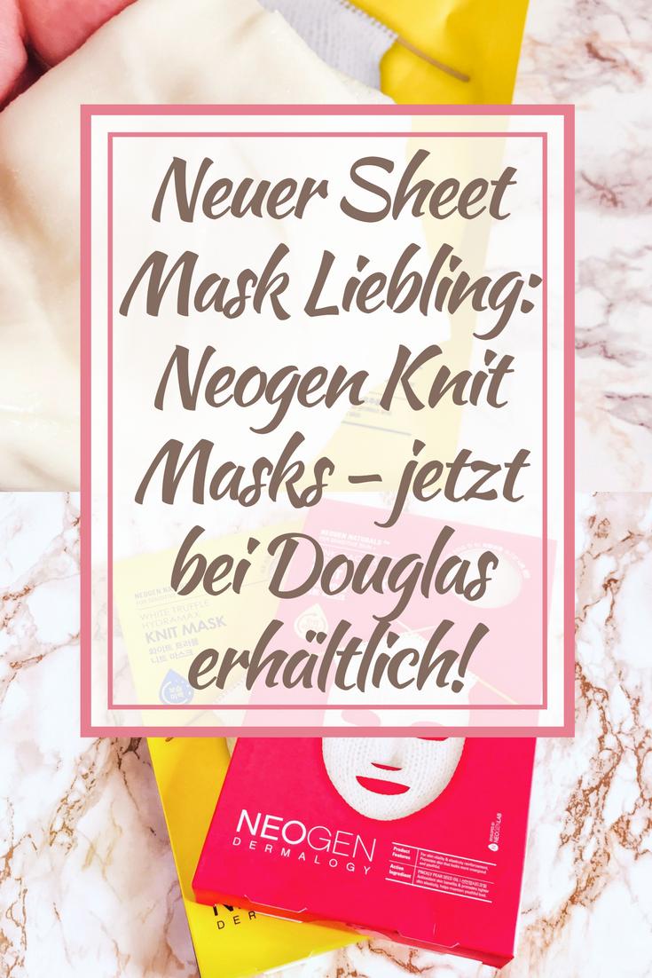 Neogen Knit Masks: Neuer Sheet Mask Liebling - jetzt bei Douglas!