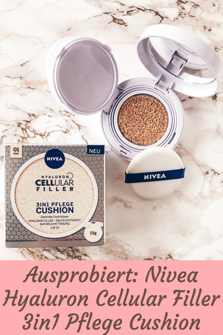 Nivea Hyaluron Cellular Filler 3in1 Pflege Cushion - ausprobiert!