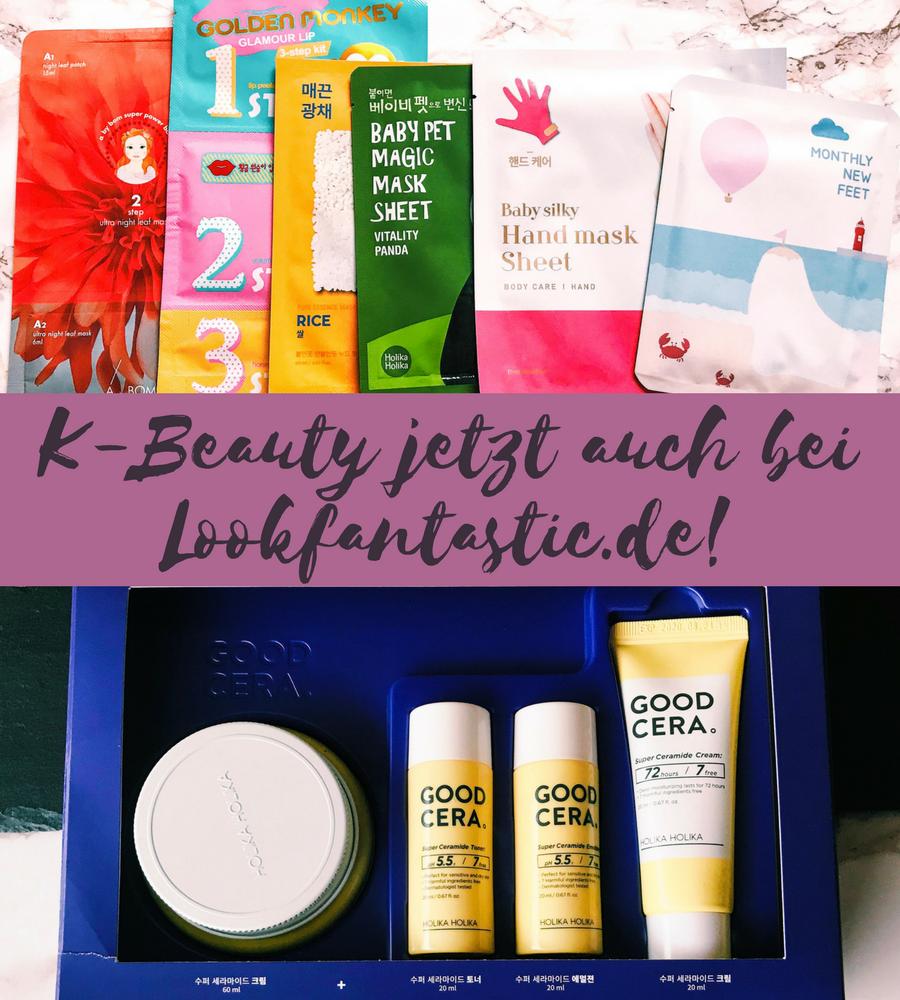 [GER] Beauty News: K-Beauty findet Ihr ab jetzt auch bei Lookfantastic.de!