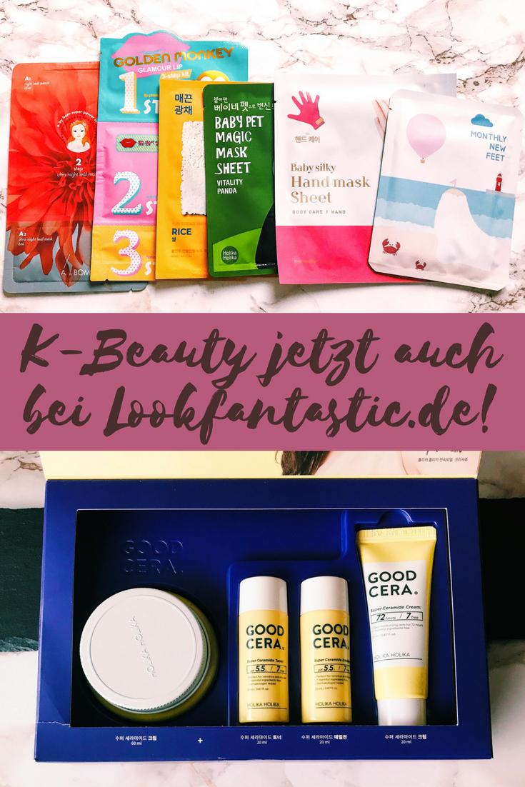 K-Beauty findet Ihr ab jetzt auch bei Lookfantastic.de!