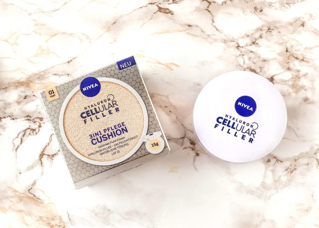 Nivea Hyaluron Cellular Filler 3in1 Pflege Cushion hell ausprobiert