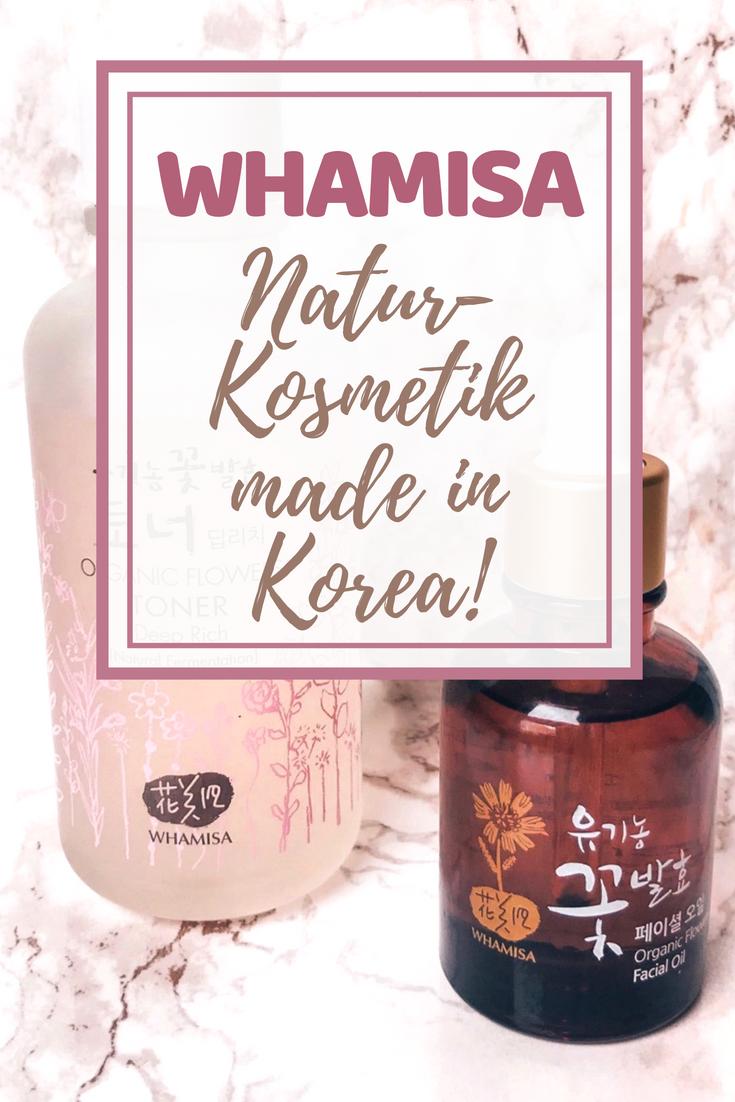 Whamisa - Naturkosmetik made in Korea!