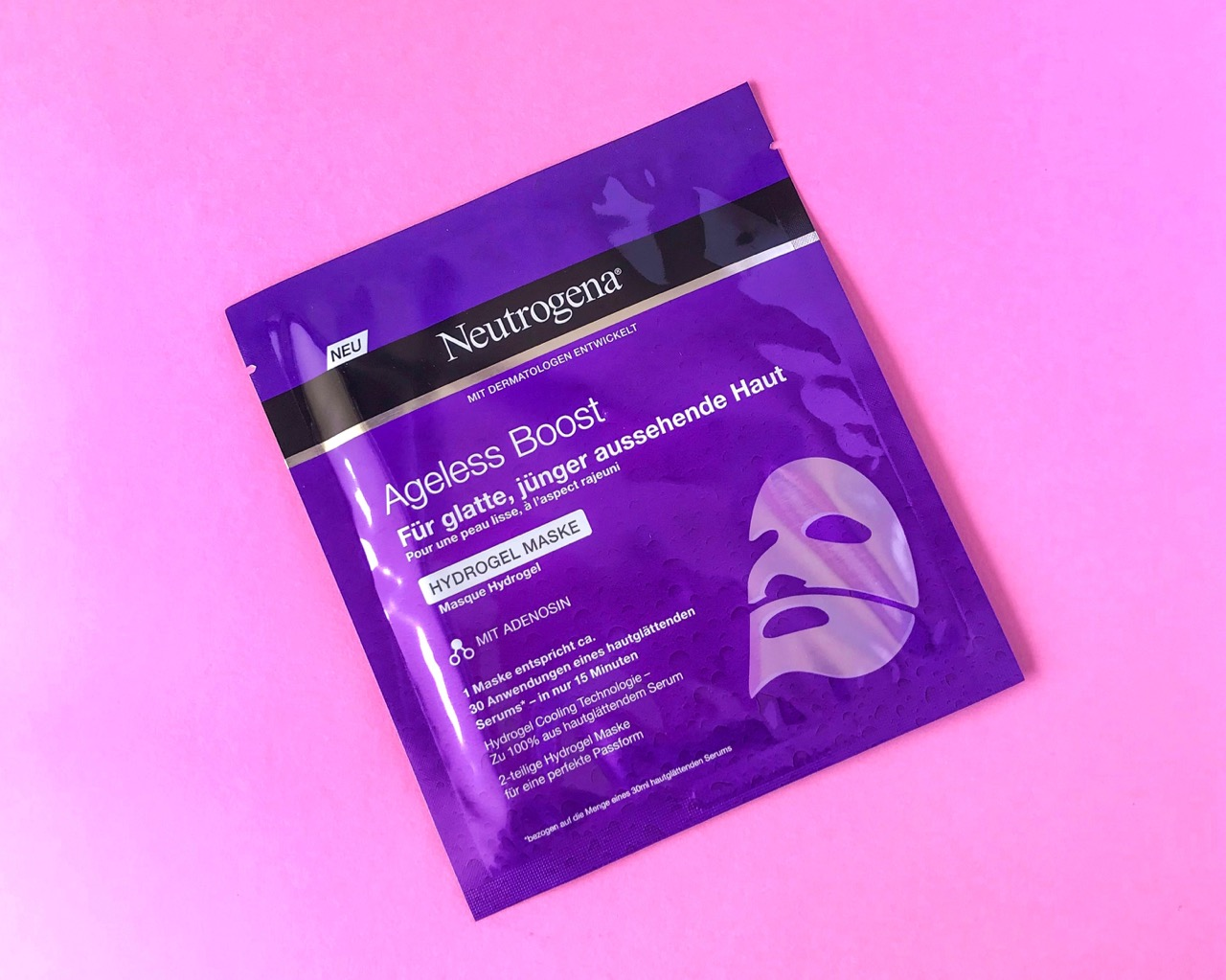 neutrogena hydrogel masken ageless boost