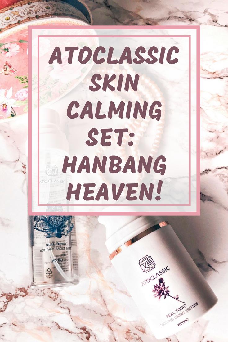 Atoclassic Skin Calming Set: Hanbang Heaven!