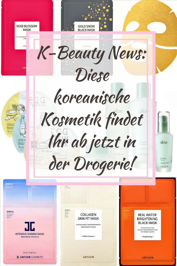 K-Beauty News: Diese koreanische Kosmetik findet Ihr ab jetzt in der Drogerie!