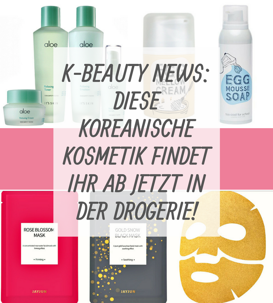 K-Beauty News Drogerie