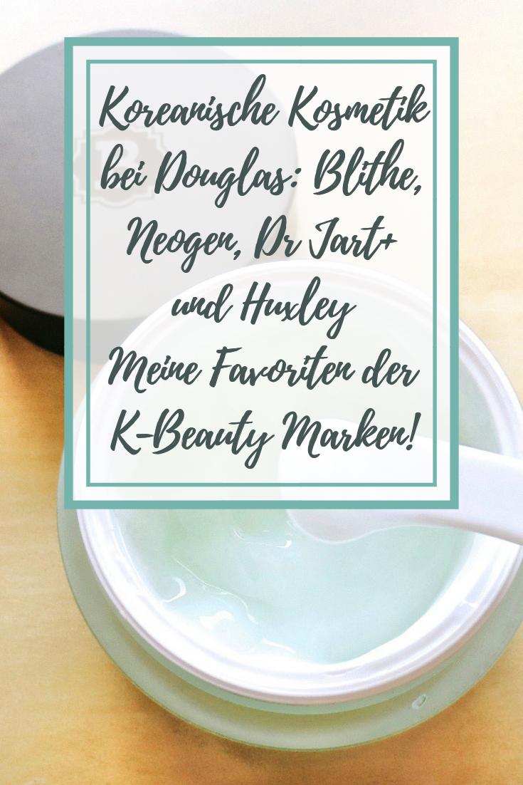 Koreanische Kosmetik bei Douglas: Blithe, Neogen, Dr. Jart+ und Huxley!