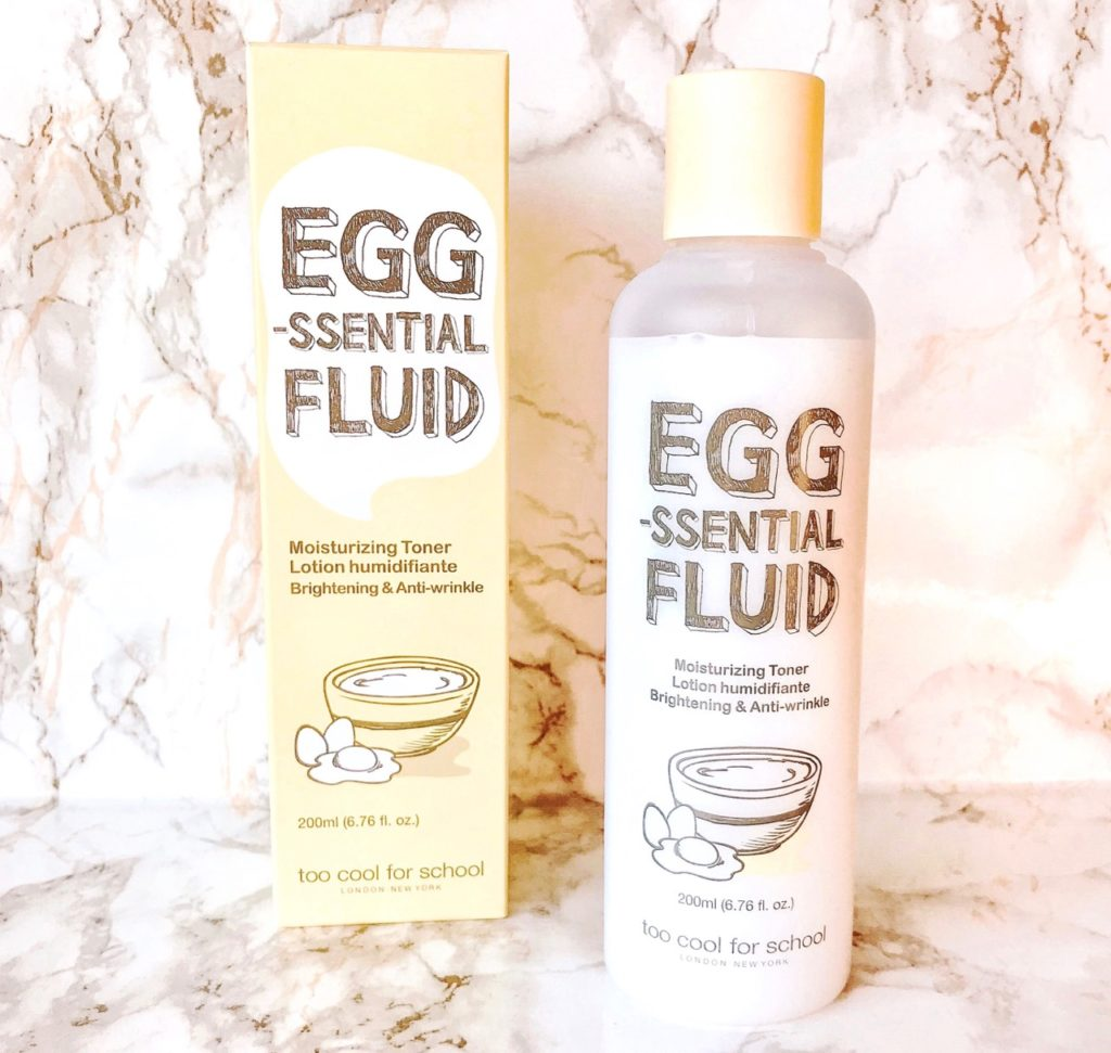 Too Cool For School EGG-Ssential Fluid Review