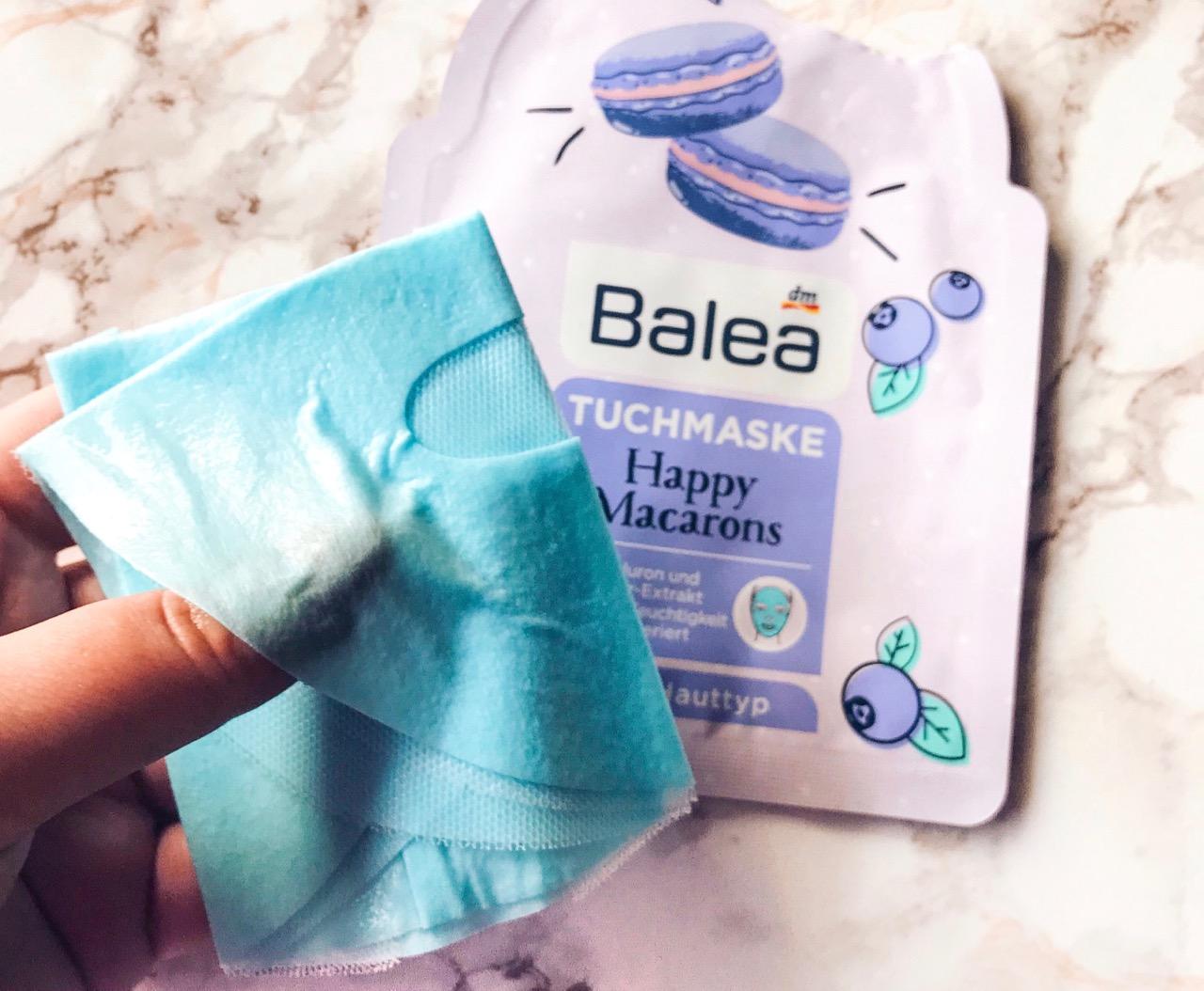 Balea Tuchmasken Happy Macarons ausprobiert
