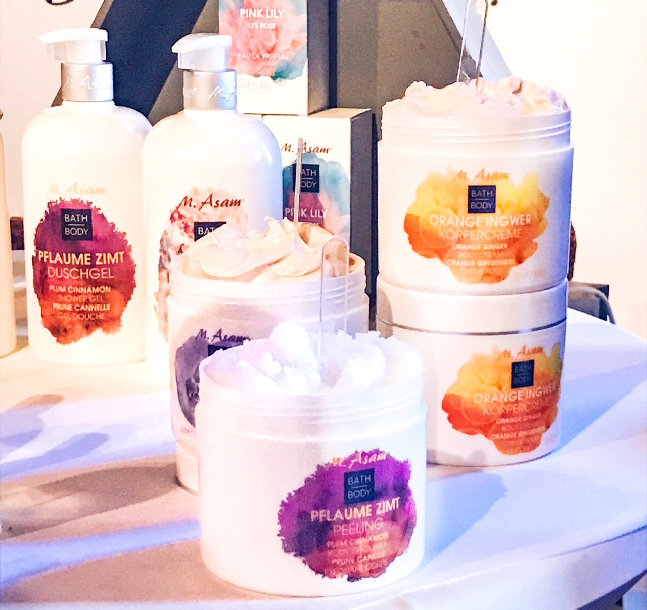 Beautypress Blogger Event Oktober 2018 M Asam Winterdüfte