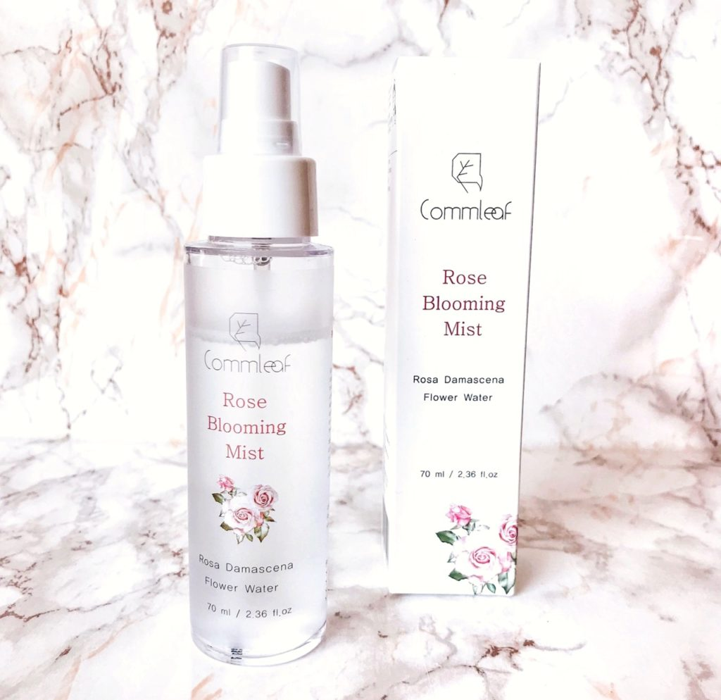Commleaf Rose Blooming Mist review