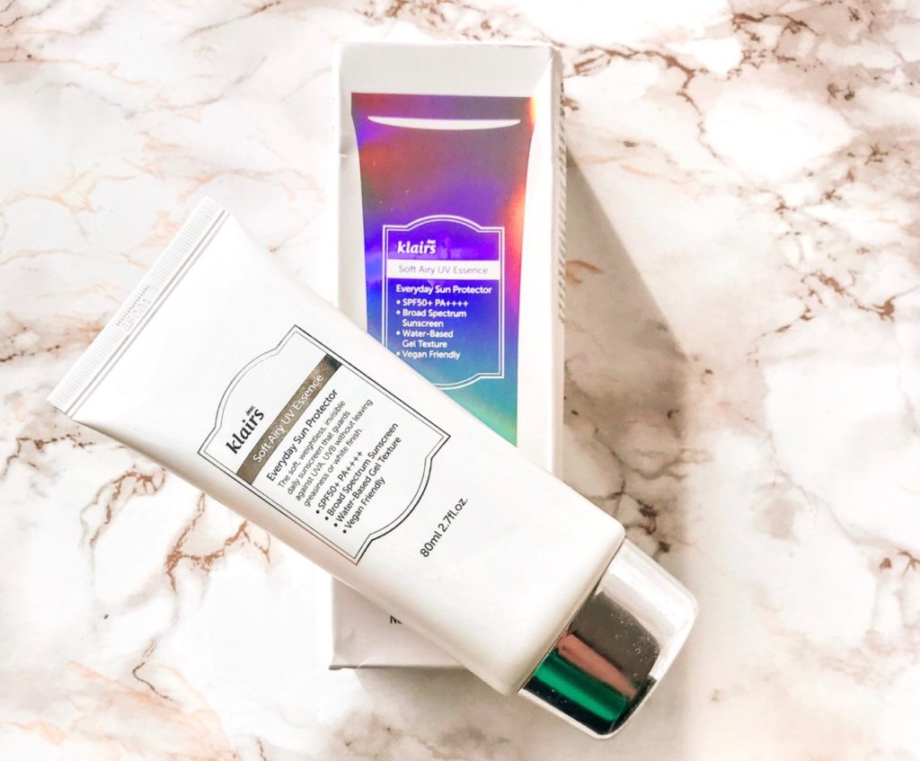 Beauty Favoriten November 2018 - Klairs Soft Airy UV Essence