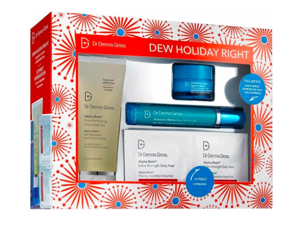 beauty geschenk ideen weihnachten 2018 Dr Dennis Gross Dew Holiday Right