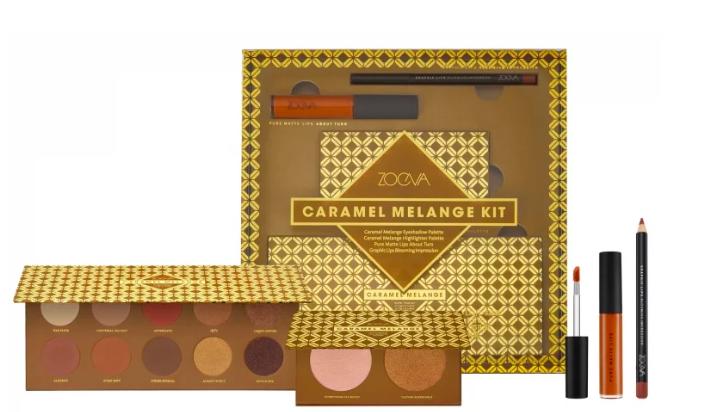 beauty geschenk ideen weihnachten 2018 ZOEVA Caramel Melange Kit