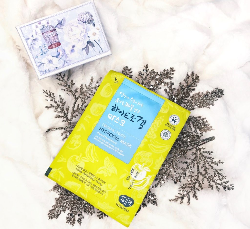 Winterpflege mit K-Beauty: Whamisa Hydrogel Mask