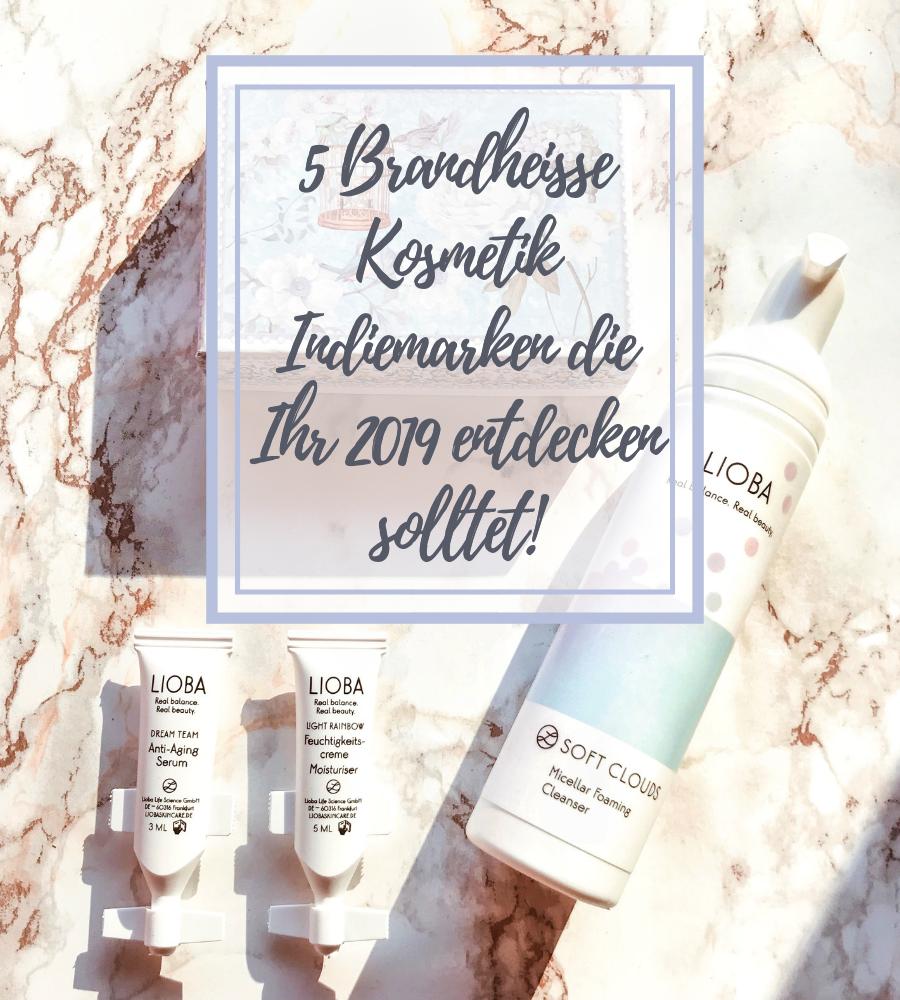 5 Kosmetik Indiemarken 2019