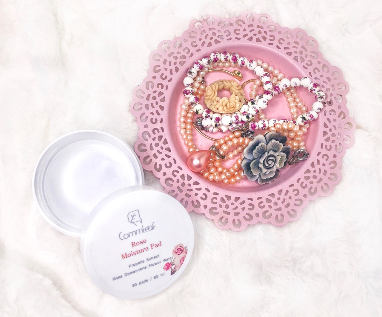 K-Beauty Empties: Commleaf Rose Moisture Pad
