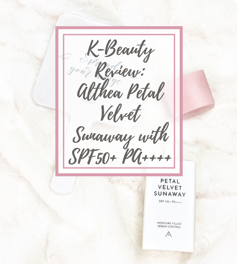 Althea Petal Velvet Sunaway with SPF50+ PA++++