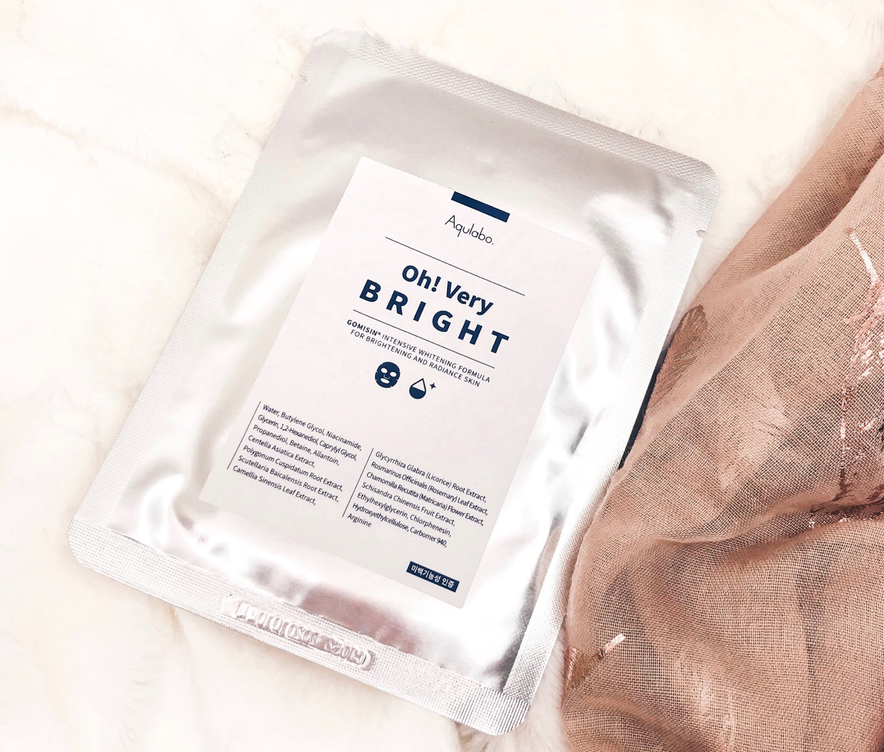 Beauty Favoriten Februar 2019: Aqulabo Oh! Very Bright Sheet Mask