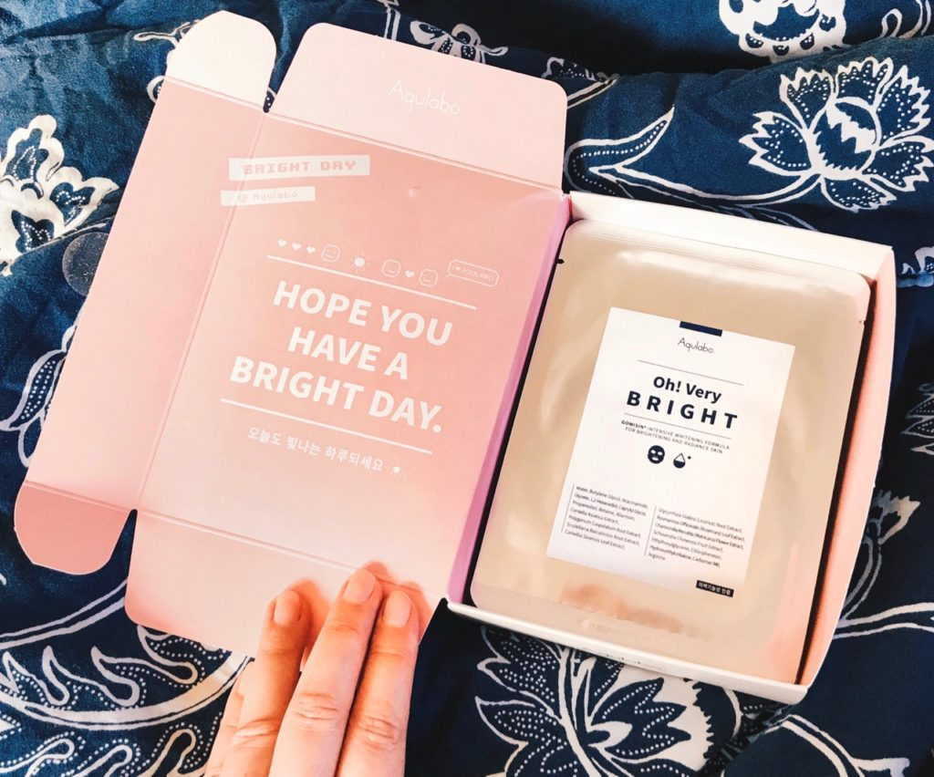 Aqulabo Oh! Very Bright Sheet Masks