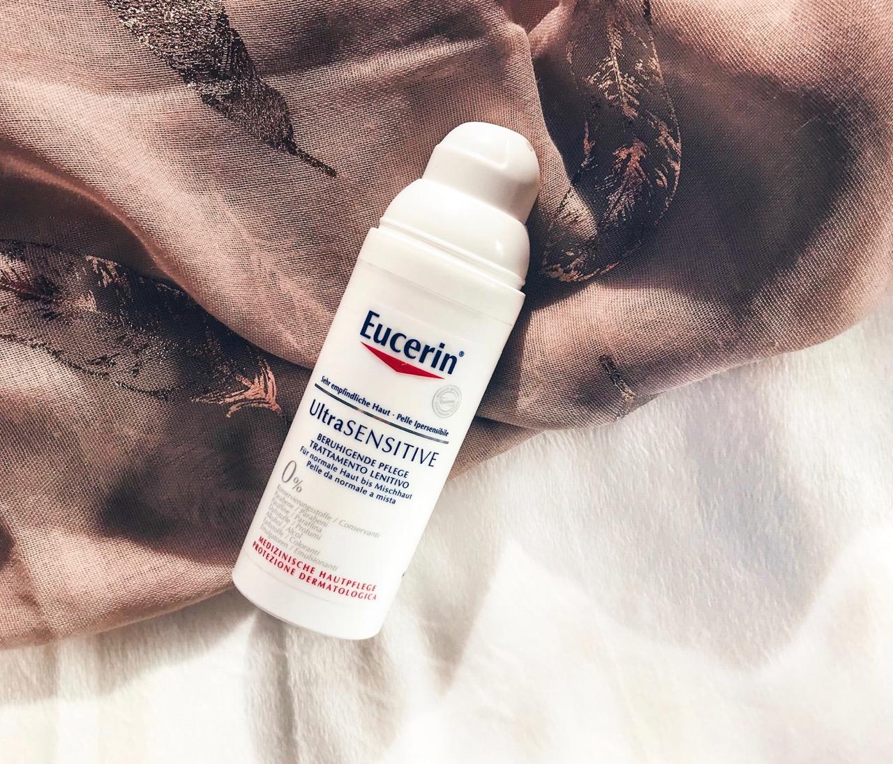 Eucerin Ultra Sensitive Beruhigende Pflege ausprobiert