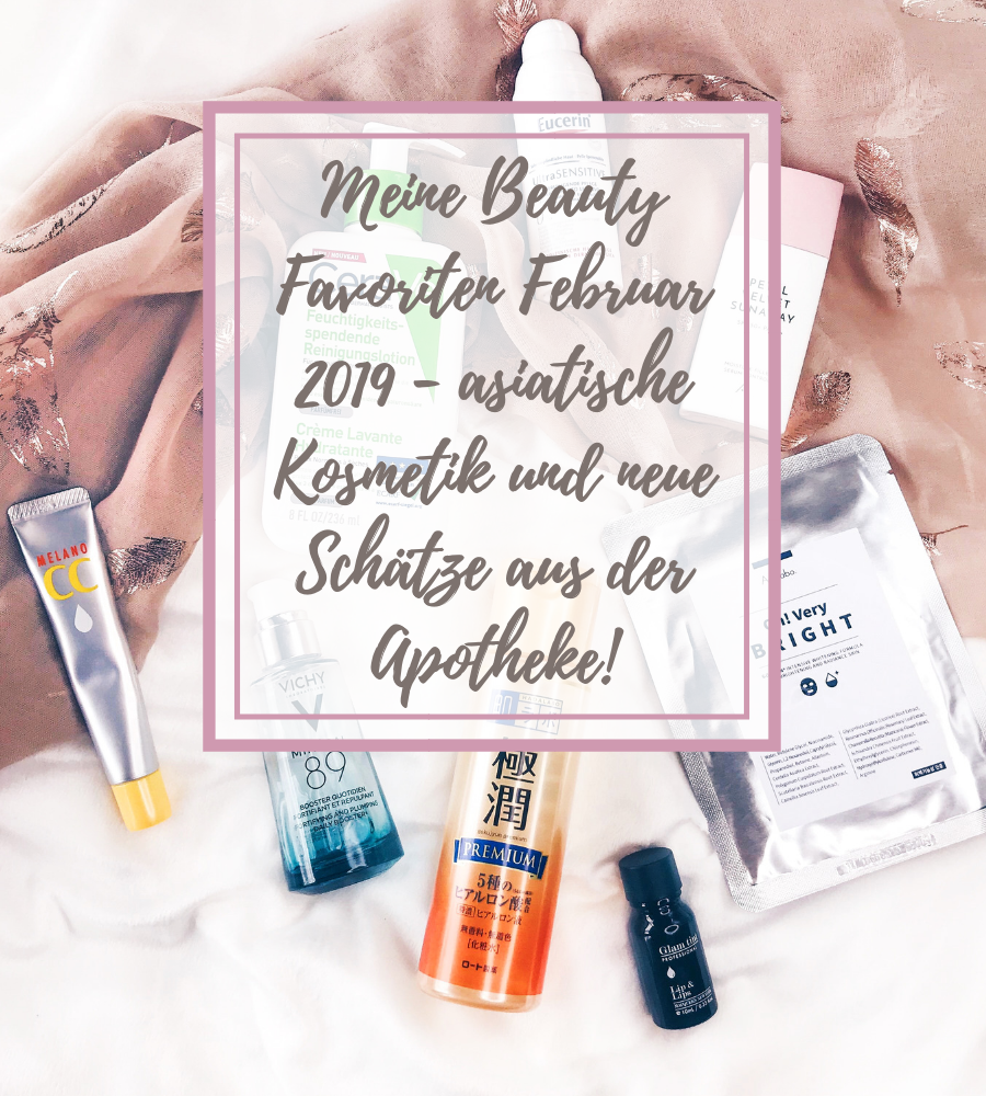 Beauty Favoriten Februar 2019