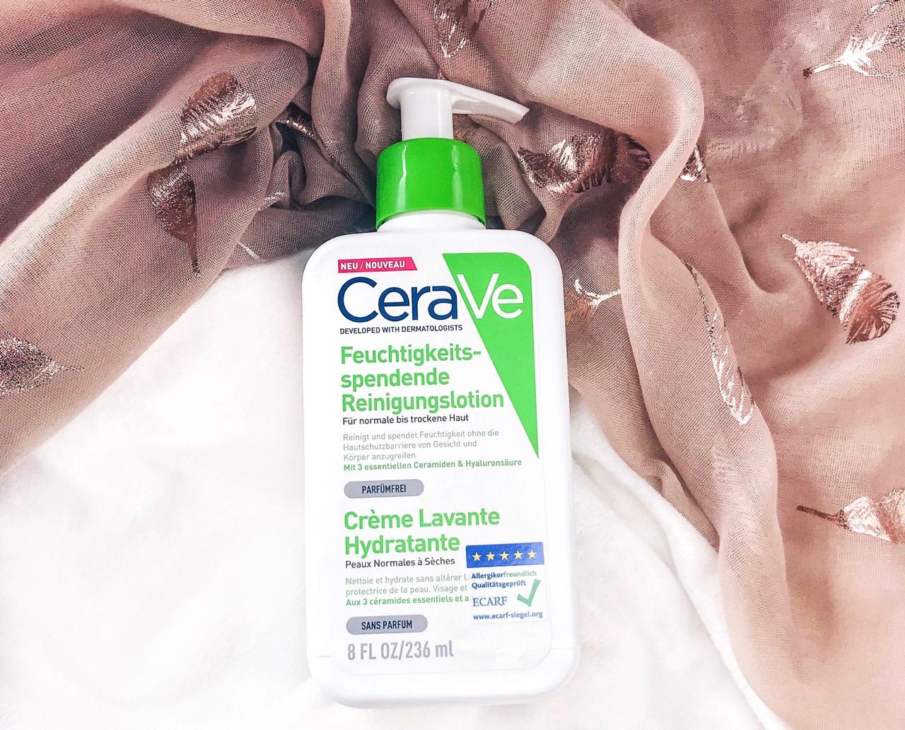 Beauty Favoriten Februar 2019: CeraVe Feuchtigkeitsspendende Reinigungslotion