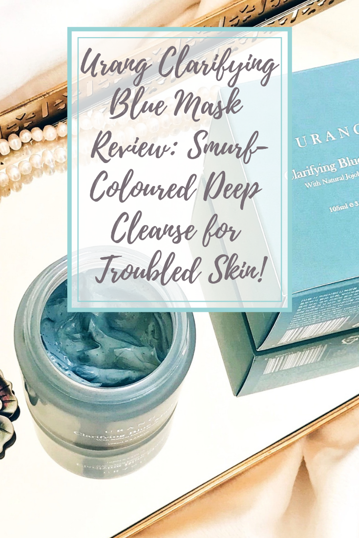 Urang Clarifying Blue Mask Review: Deep Cleanse for Troubled Skin!