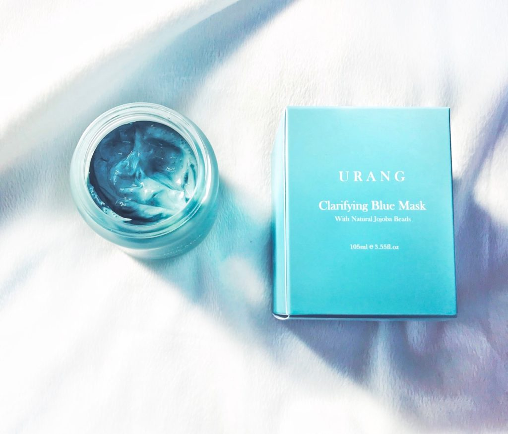 Urang Clarifying Blue Mask how to use