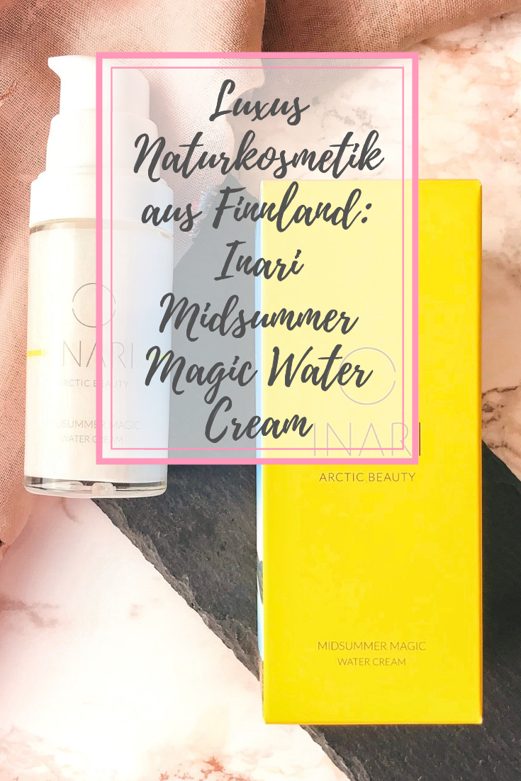 INARI Midsummer Magic Water Cream: Luxus Naturkosmetik aus Finnland
