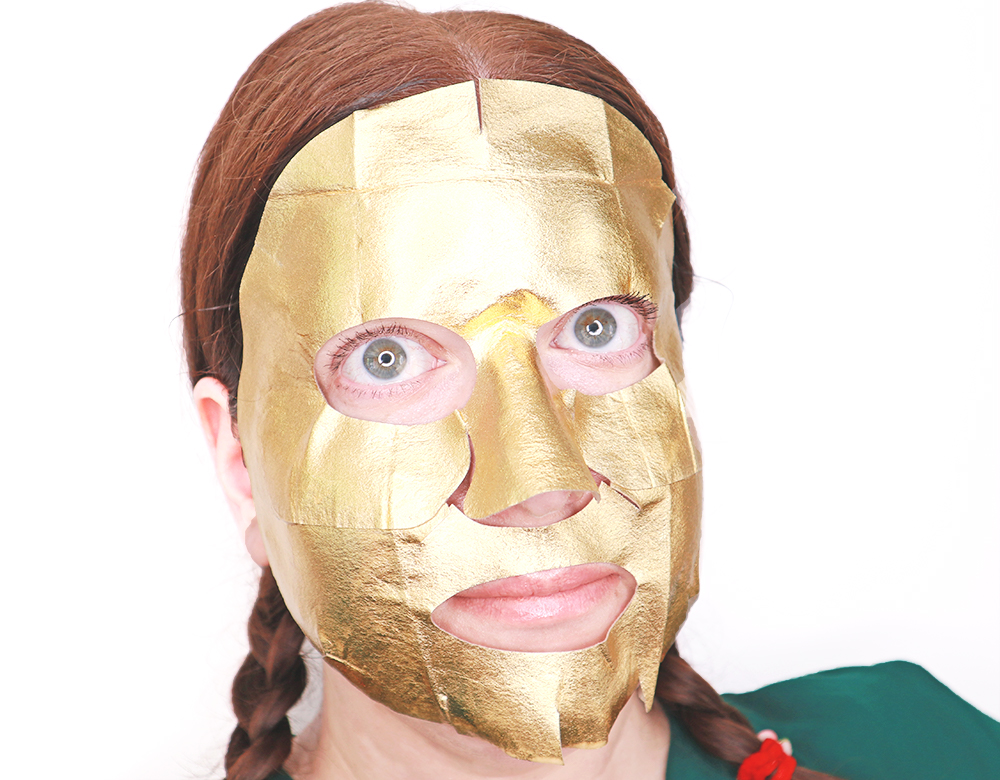 QVC Korean Beauty Night: JAYJUN Gold Snow Black Mask Review