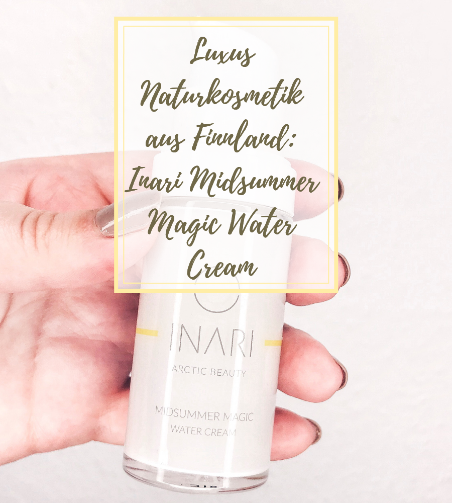 INARI Midsummer Magic Water Cream - Luxus Naturkosmetik aus Finnland