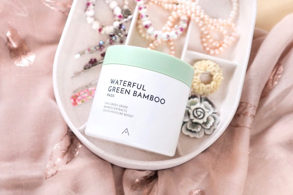 Althea Waterful Green Bamboo Pads ingredients