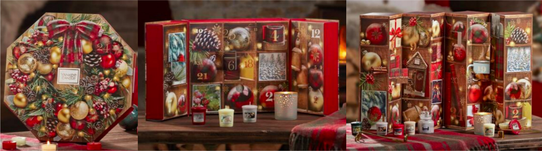 Yankee Candle Adventskalender 2019 - Beauty Adventskalender 2019 Liste