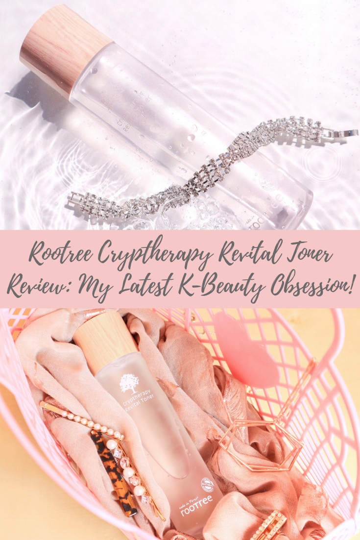 ROOTREE Cryptherapy Revital Toner Review - Latest K-Beauty Obsession