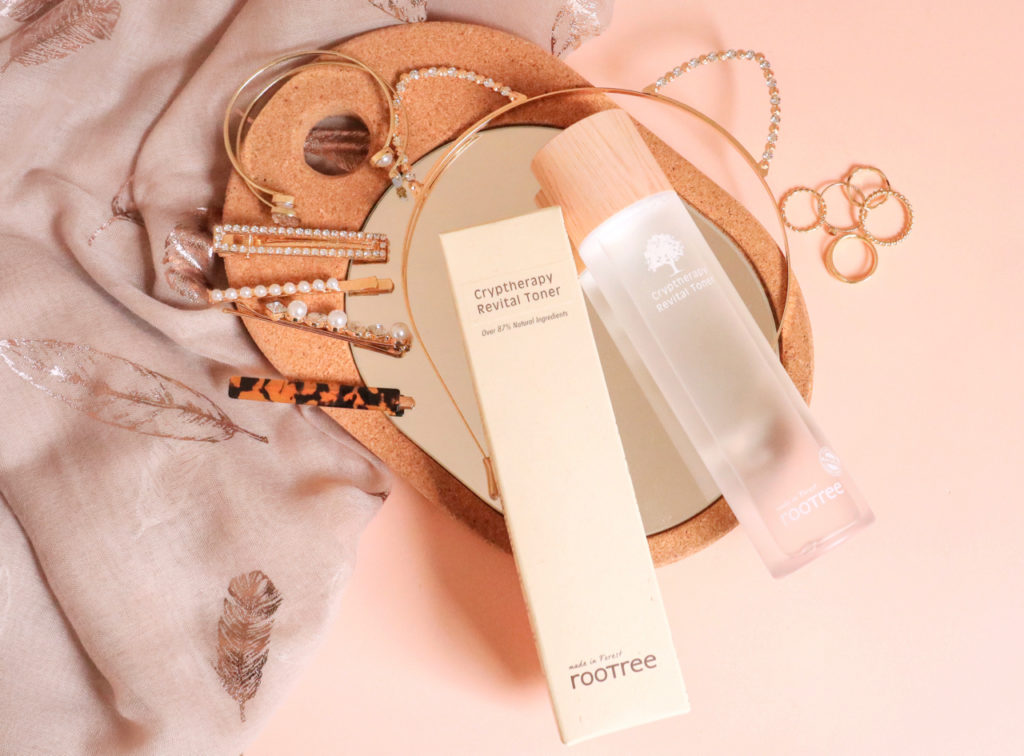 Rootree Cryptherapy Revital Toner Korean beauty blog