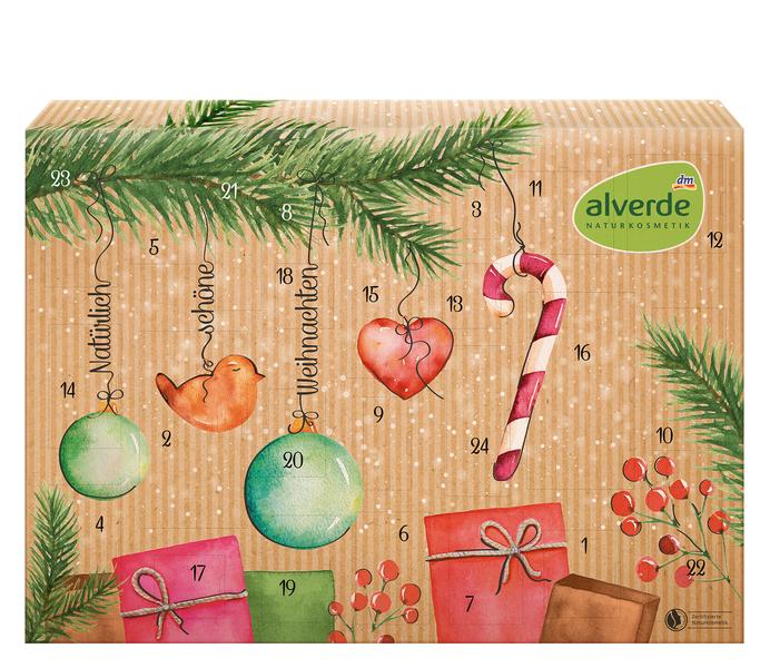 Alverde Adventskalender 2019 Inhalt