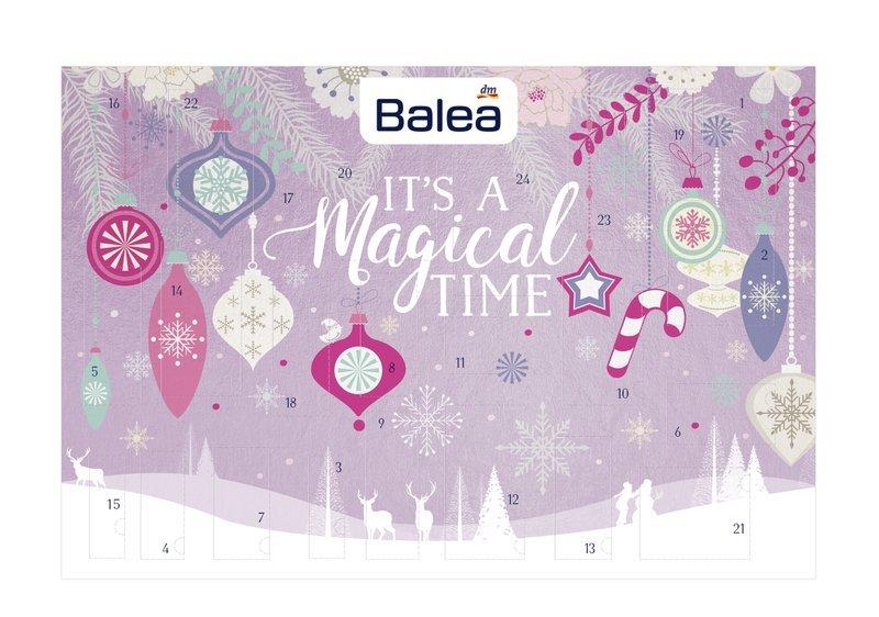 Balea Adventskalender 2019 Inhalt