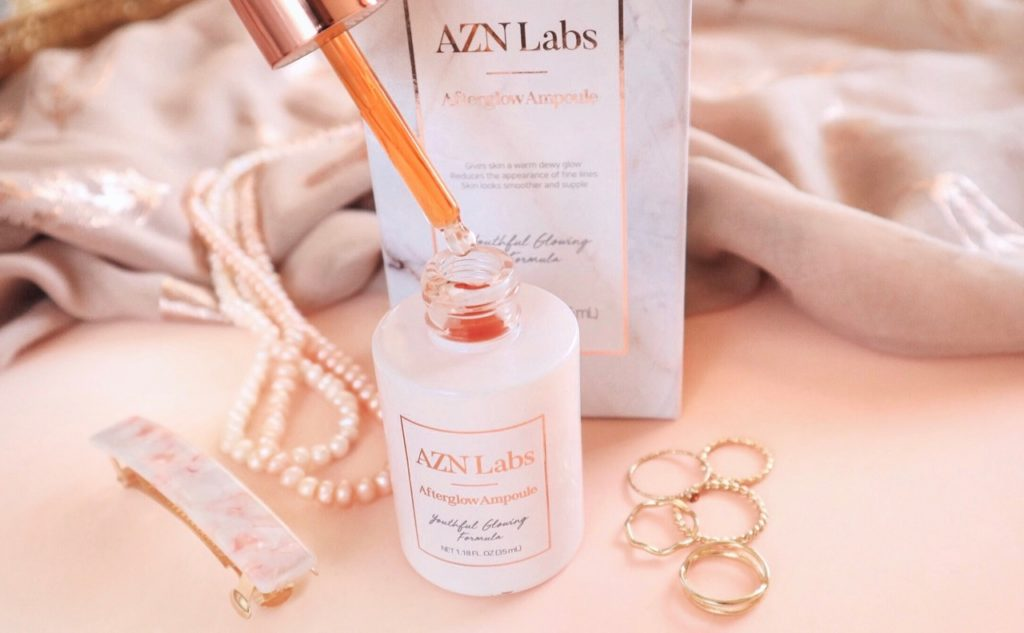 AZN Labs Afterglow Ampoule Korean beauty